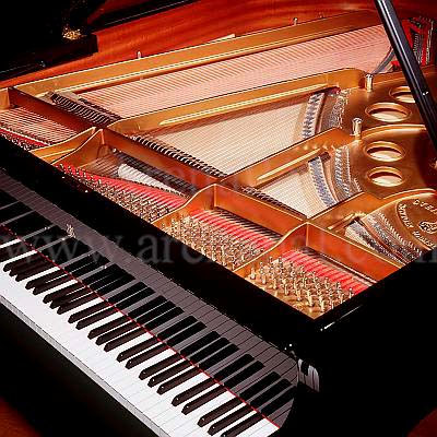 A fully restored Steinway grand piano
