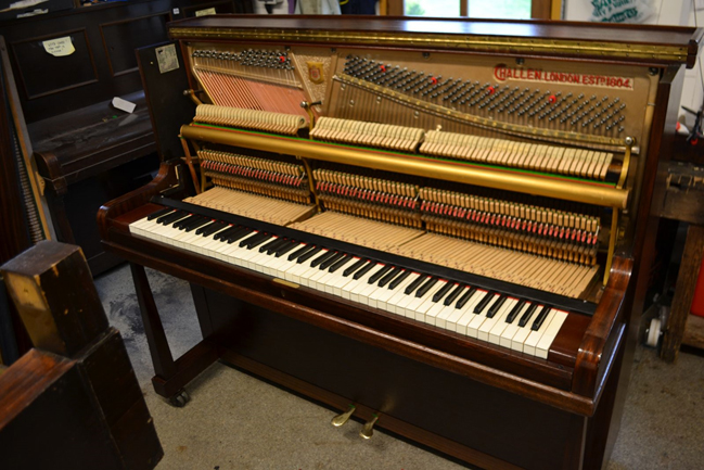 Restoring An Upright Piano
