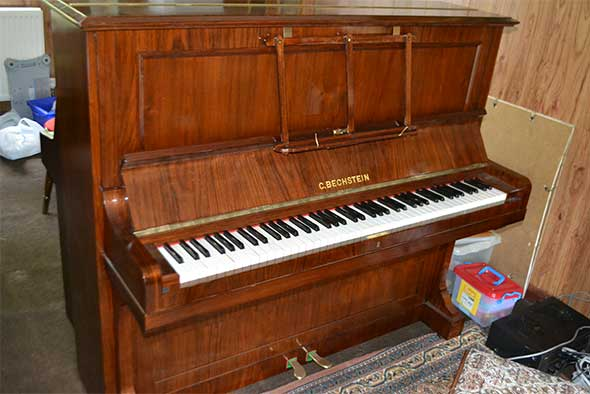 Bechstein Upright Piano Model 10